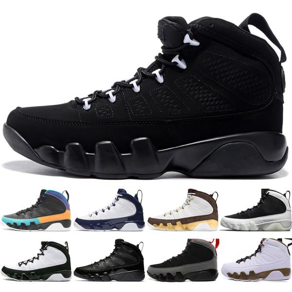 A buon mercato 9 9s Dream It Do UNC Mop Melo Mens Scarpe da basket LA OG Space Jam uomo Bred All Black The Spirit scarpe da ginnastica design US 7-13