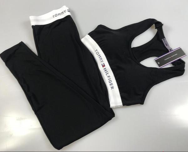 2019 luxus frauen yoga set sport top weste + reflektierende leggings fitness clothing laufhose jogging workout yoga leggings sport anzug
