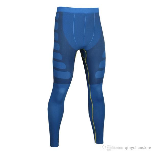 pantalons de formation en cours d'exécution Fitness masculin de basket-ball compression élastique pantalons rapides pantalons serrés en forme longue de sport MA05
