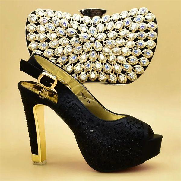 Tasarımcı Ayakkabı Kadınlar Lüks 2019 İtalyan Ayakkabı ve Çanta Seti Kadınlar Için Parti Nijeryalı Kadınlar Için Düğün Ayakkab ...