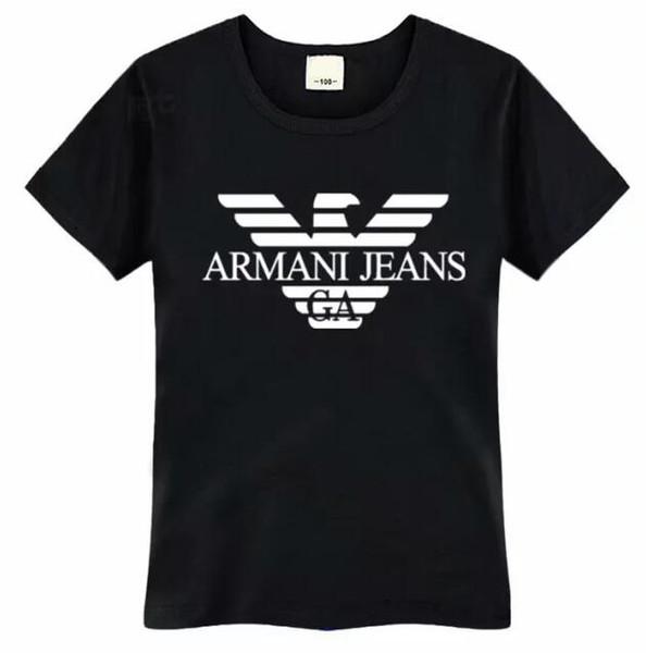 Abbigliamento per bambini bambini Ragazzi ragazze Estate T-shirt Lettering Tops Boy Girl Moda Casual Camicie manica corta Tee Abbigliamento per bambini