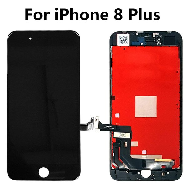 Black & White Grade A+++ LCD For iPhone 8 Plus Screen Assembly 5.5 Inch Display Digitizer Replacement & Free Shipping DHL