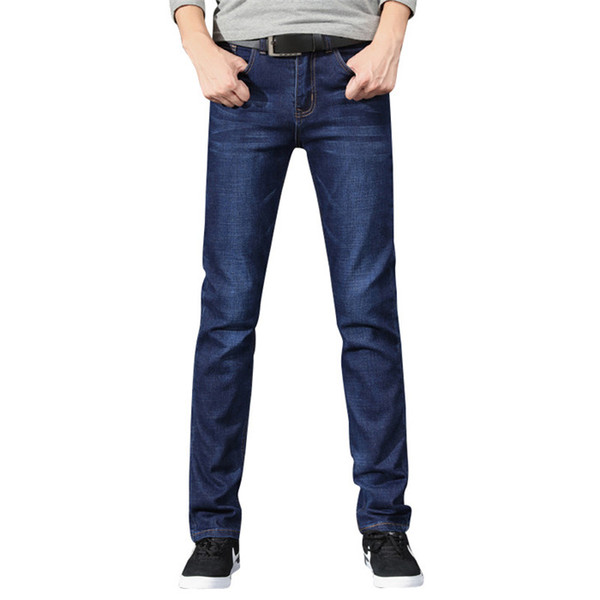 2019 New Summer Spring Jeans Men High Quality Brand Denim Trousers Soft Mens Pants Man Fashion Big Size 36 38 40