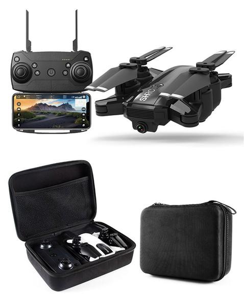 Nouveau Drone GPS 1080P HD Caméra 5Ghz Suivez-moi WIFI FPV RC Quadricoptère Pliable Selfie Vidéo Live Altitude Hold Auto Return RC Drone 1pcs DHL
