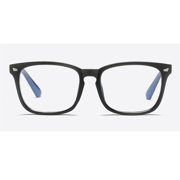 Atacado-moldura quadrada Miopia Nerd óculos escuros dois tons Rivet Óculos Frames Mulheres