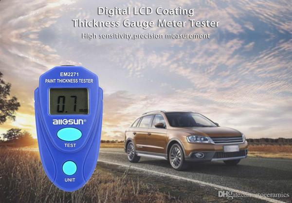 Misuratore di spessore di vernice Misuratore di spessore digitale Misuratore di spessore per auto EM2271