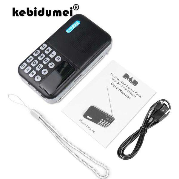 Portable Digital LCD FM Radio Stereo Audio Speaker MP3 Stereo Music Player USB