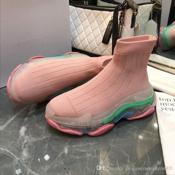 Новый дизайнер повседневная обувь мужчина женщина бегун гонки кроссовки зашнуровать кожа сетка тренер кроссовки прямая поставка bll181020