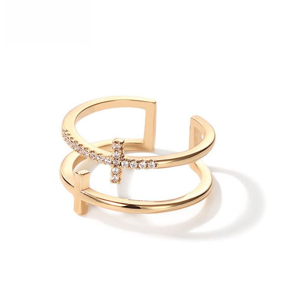Женская мужская обручальное кольцо из стерлингового серебра 925 пробы с милыми бриллиантовыми ювелирными подарками Регулируемый размер кольца