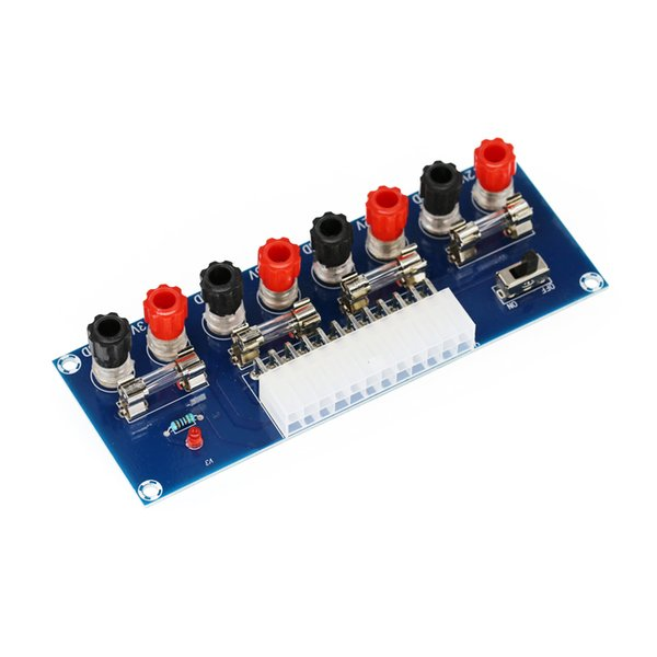 Transmission Office Low Voltage High Efficiency Fast Access Computer Power Breakout Board Multiple Output Channel ATX Port Home