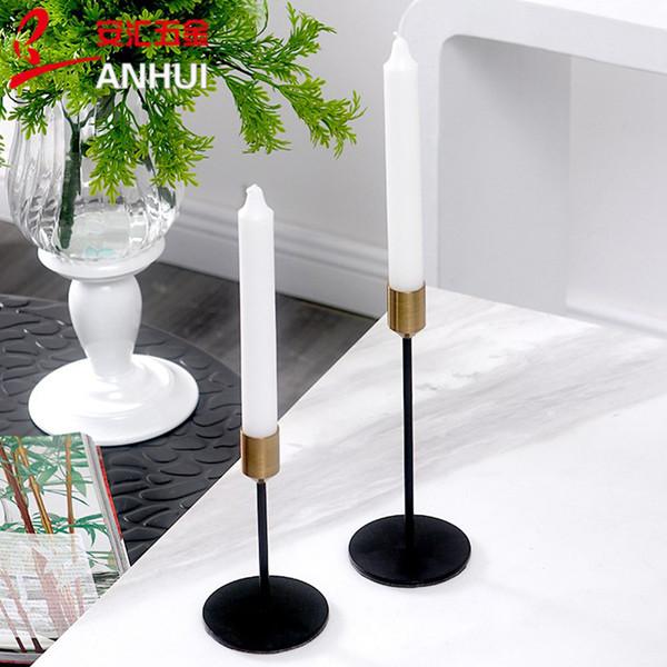 Простой подсвечник Soft Time Nordic Decoration Подсвечник ужин романтическая Свадьба Креативные украшения новый стиль