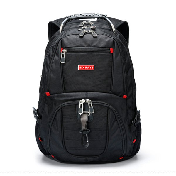 "Brand Swiss Computer Backpacks Anti-theft Backpack Waterproof Bags for Men Women Laptop 15""Backpack External USB Charge"