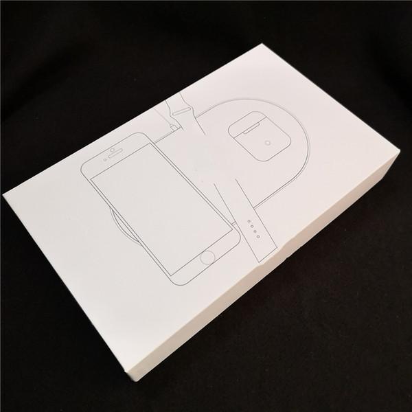 3 en 1 AP Chargeur Sans Fil Pour iPhone X XS 8 Titulaire Portable Voyage Rapide Pad De Recharge Sans Fil Pour Samsang galaxy S9 S8