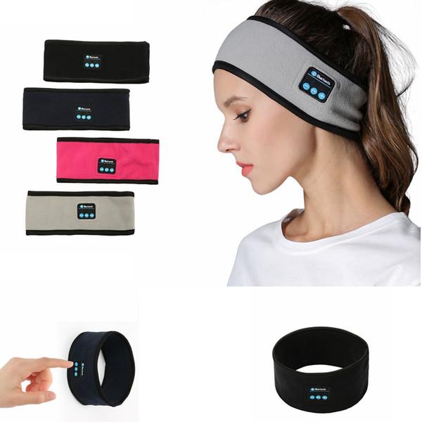 Drahtlose Bluetooth Stirnband Musik Haarband stricken Kopftuch Stereo Musik Freisprecheinrichtung Smart Sport Yoga Gym Stirnbänder Parteibevorzugung GGA1474