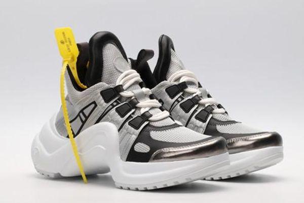 En Yeni Marka ACE Archlight Sneaker Kadınlar Erkekler Rasgele Tasarımcı Ayakkabı Moda Siyah Beyaz Açık Yürüyüş Lover Ayakkabı 35-42