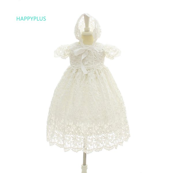 66da36029c7da 2019 Happyplus Baptism Dress Wedding Outfit Formal Girl Lace Dresses  Birthday 1 Year Baby Christening Gowns Summer Q190518 From Yiwang09, $31.13  | ...