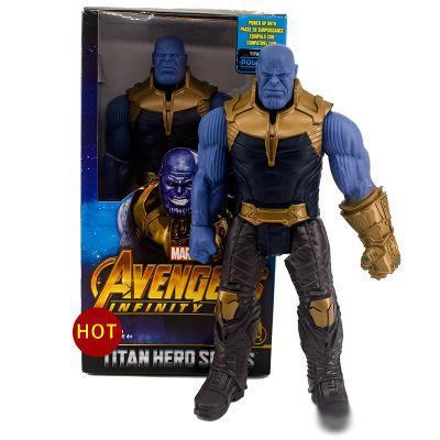 DHL 2019 нового прибытие Мстителей 3 Marvel Фильмы Фигурка Халка Танос Hulkbuster активность кукла модель игрушка