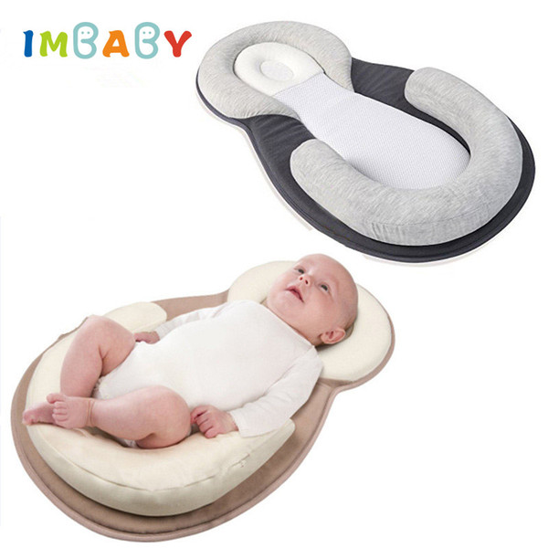 best selling Comfortable Baby Pillow Infant Sleep Positioner Pillow Baby Anti Roll Cushion Rollover Prevention Newborn Mattress
