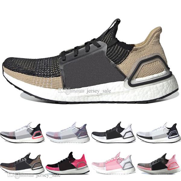 Date 2019 Ultra Boost 19 Laser Rouge Refract Oreo hommes chaussures de course pour hommes Femmes UltraBoost 5.0 Dark Pixel Sport Sneaker Designer formateurs