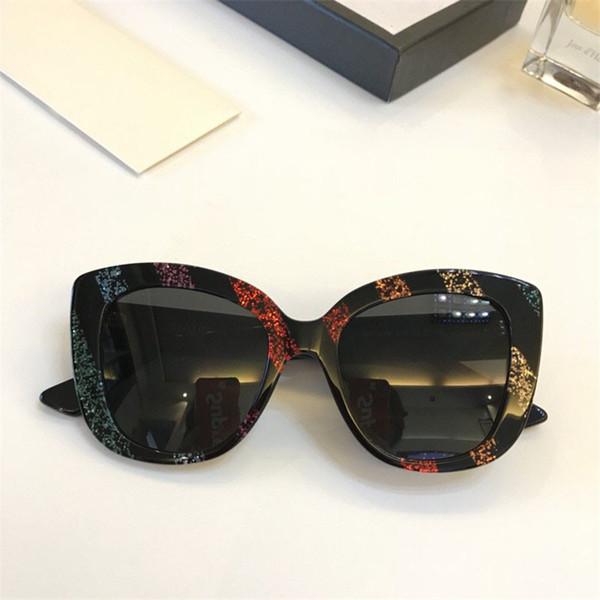 Luxo-Novo designer de moda óculos de sol 0327 charme quadro de olho de gato estilo popular para as mulheres de alta qualidade venda de proteção uv400 eyewear