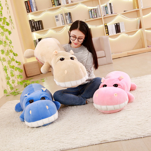 Pillow Blanket + Pillow Suit Coussin 3 Colors Hippo Seat/Back Cushion Super Soft Stretch Cotton Removable And Washable