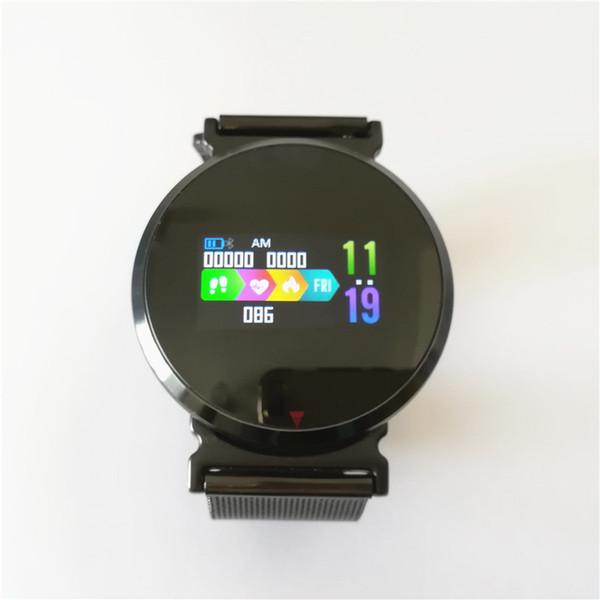 Fashion Smart Watch Men Women Fitness Tracker E28 HD IPS Screen Smart Wristband Heart Rate Monitor Waterproof Smart Bracelet