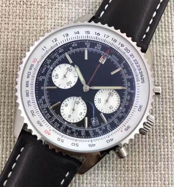 Chronograph Working VK Quartz Movement Mens Luxury Designer Stainless Steel Watch Fashion mens Stopwatch Watches Automatic Wristwatches