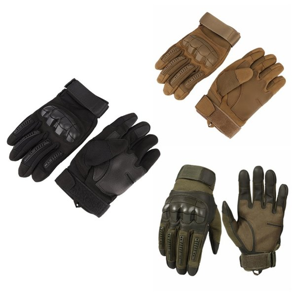 Motorcycle mountaineering tactical glove for men cycling glove military climbing full finger exerci e port glove