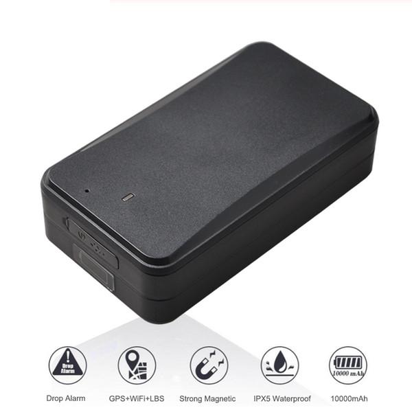 Rastreador de GPS del coche del envase del imán de GPS del perseguidor nuevamente del activo con la batería de la recarga 10000mAh 30 días a 2.5 años de tiempo de trabajo (venta al por menor)
