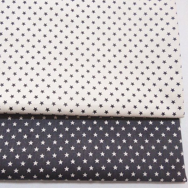 Small star style print 100%cotton fabric for baby cloth 10yards/lot tomo1838