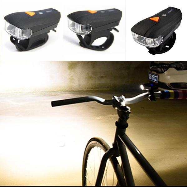 Fahrrad Scheinwerfer Scheinwerfer Sensor Schwarz Safety Night 1200mAh Lithium Polymer Batterie Reitlampe