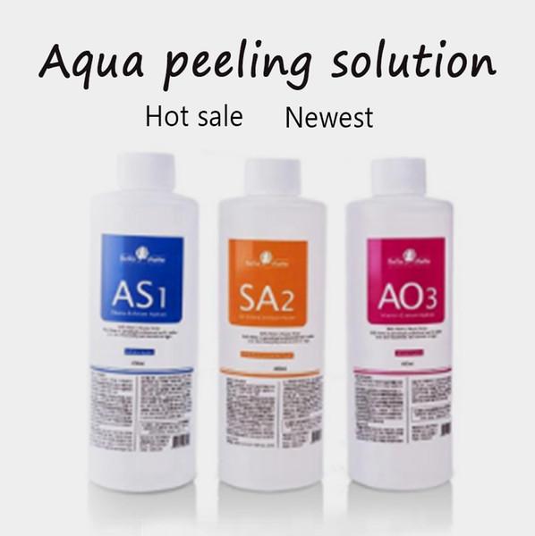 2020 sérum de venda quente dos cuidados com a pele / solução de Hydra da casca do Aqua soro facial ácido hialurônico para cuidados com a pele para a máquina hidro