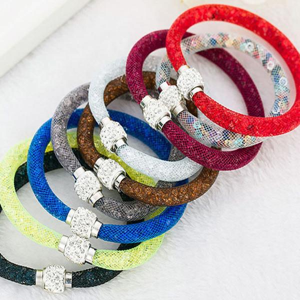 20cm pulsera de la joyería de lujo de la pulsera de las mujeres de Pandora pulseras joyería de lujo de las mujeres de los brazaletes de envío libre del regalo