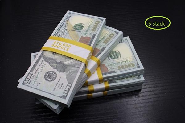 5 Pack 100 dolars (500pcs)