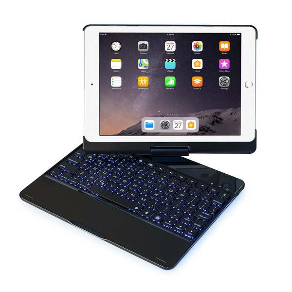 Tastaturhülle Kompatibel mit iPad 2017 (5. Generation) / 2018 Neues iPad (6. Generation) / Air / Air2 / iPad Pro 9.7
