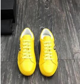 Nova Chegada Sneaker-Plataforma Sapatos Masculinos SS1798 Top Layer couro de rebite Homens calçados casuais EUR 38-45 xct01