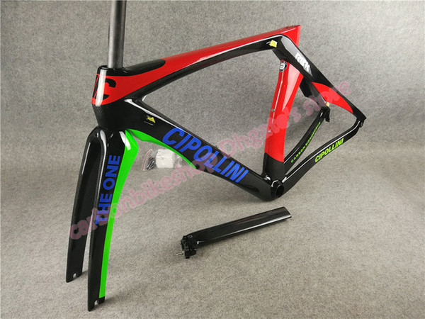 DIY Multi color painting 3K Glossy T1000 XXS/XS/S/M/L/XL MCipollini RB1K THE ONE carbon road frames free shipping