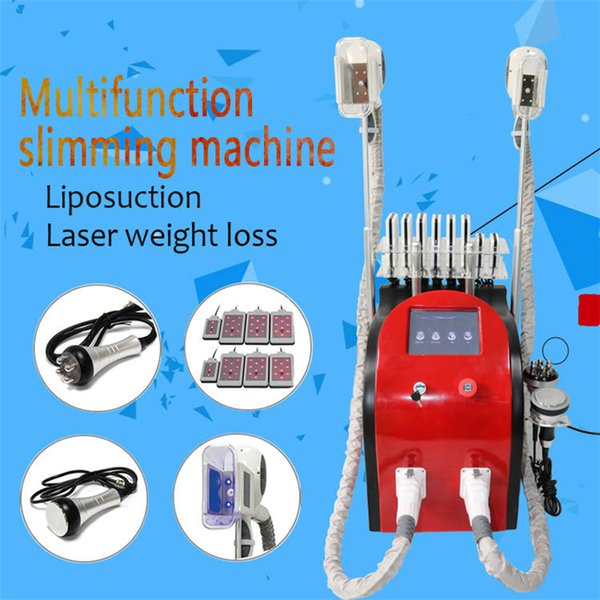 Fat freezing slimming machine cool sculptures cavitation weight loss lipolaser Ultrasound RF face lifting body slimming machine