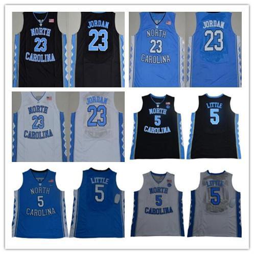 NCAA mens # 23 Michael North Carolina Tar Heels 5 Ty Lawson 30 Rasheed Wallace UNC cosido Jerseys envío gratis