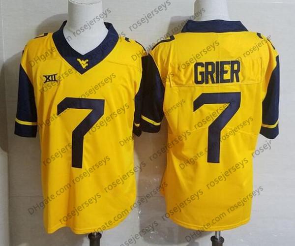 Camisa amarela de WVU