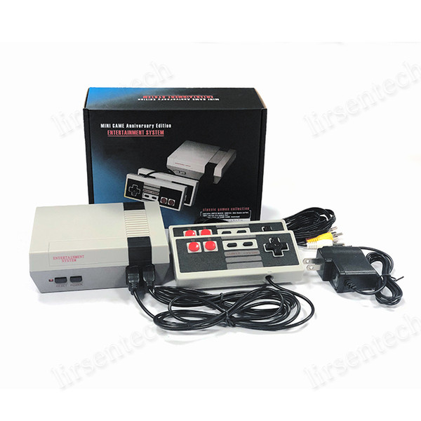 top popular Hot NES Game Consoles With Classic Games Mini TV Video Games Handheld Retro Player AV Out For PAL NTSC With Retail Box 2020