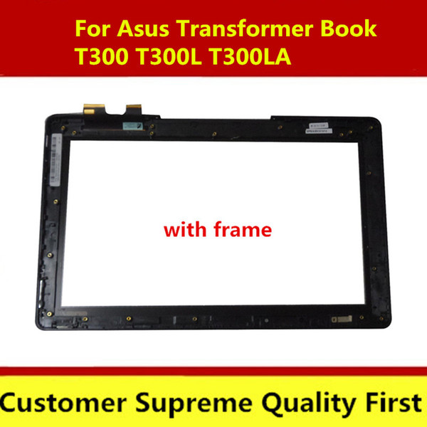 13.3 with bezel wholesale touch screen digitizer glass For Asus Transformer Book T300 T300LA digitizer 5404R FPC-1