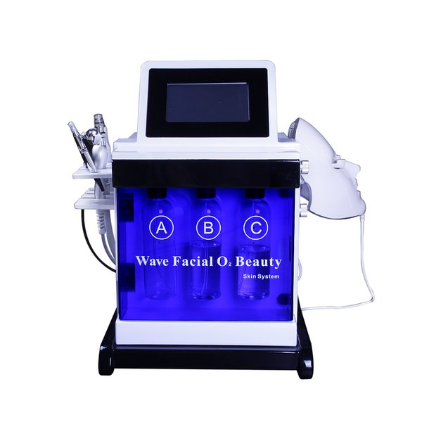 facial hydro dermabrasion machine Oxygen care Diamond Microdermabrasion facial peel BIO Face Lift Ultrasonic Machine Deep Cleaning
