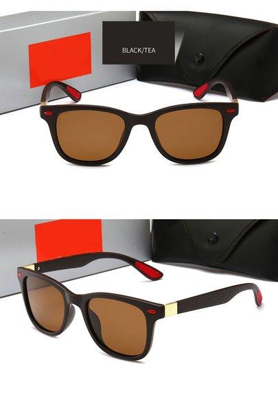 Black Frame brown Lens