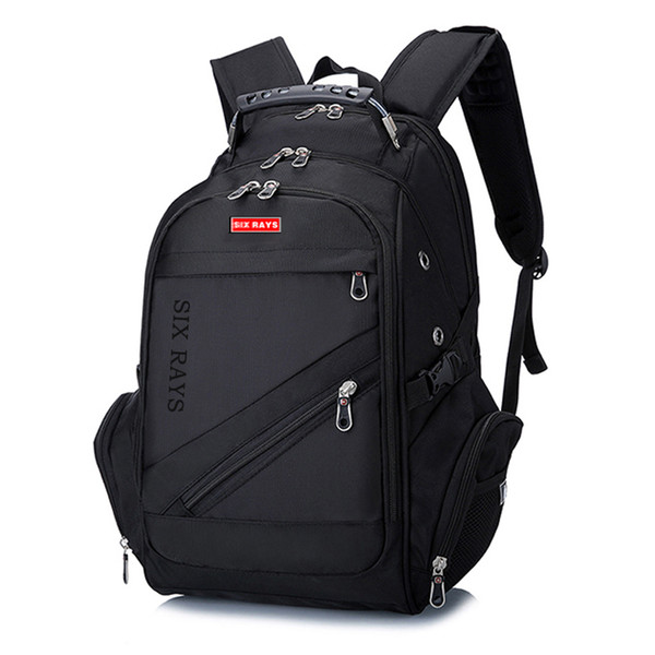 "Brand Swiss Laptop 15""backpack External Swiss Computer Backpacks Anti-theft Backpack Waterproof Bags For Men Women Backpack MX190709"
