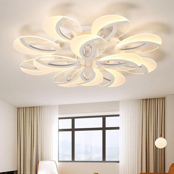 Großhandel Moderne Deckenleuchten Led Plafon Für Wohnzimmer Esszimmer Küche  Leuchten Dekor Indoor Home Lampe Dimmbare Beleuchtung Deckenlampe Von ...