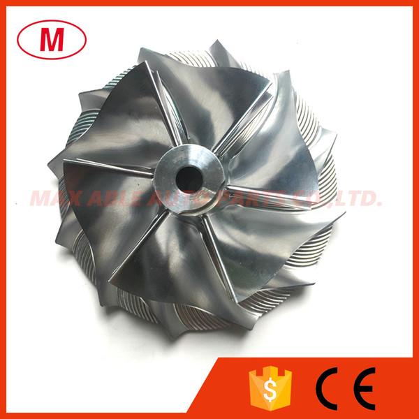 GT3582 451644-0005 61.33 / 82.00mm 6 + 6 pale Compressore Forward Racing Turbo billet / Alluminio2618 / Turbocompressore Rotella del compressore di fresatura