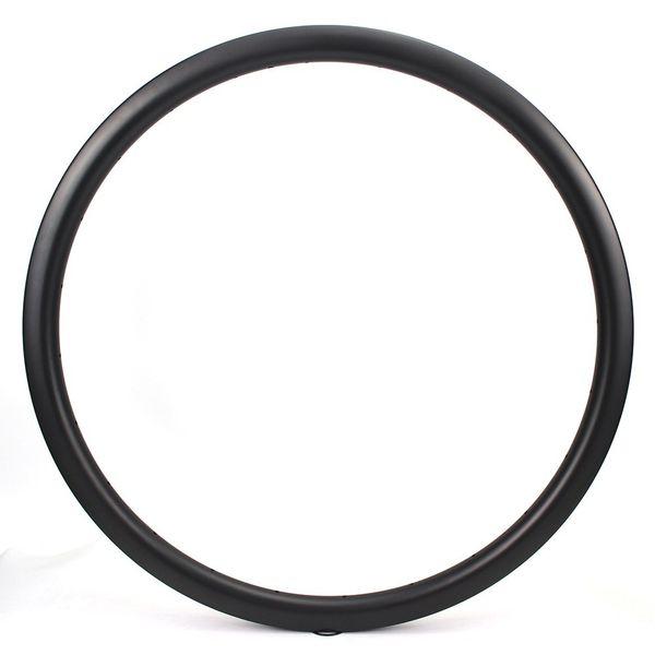 Copertoncino in superficie opaca per cerchioni 35mm UD in fibra di carbonio 700c / Tubolare / Tubeless per Road Bike Cross Country