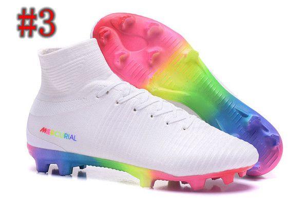 Mens Mercurial Superfly VI 360 Elite Ronaldo FG CR Soccer Shoes Chaussures Football Boots High Ankle Soccer Cleats Mercurial Superfly 360 f2