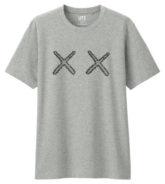 "KAWS X PEANUTS X UNIQLO T-SHIRT TEE -ALICE IN CHAINS ""TRI CELL"" BLACK T-SHIRT NEW OFFICIAL ADULT Men Women Unisex Fashion tshirt Free"